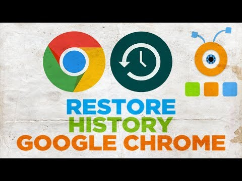 How to Restore your History in Google Chrome | How To Recover Google Chrome History