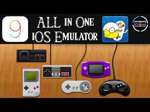 GBA, NDS, PSP, PS1, N64 Emulator iOS 9 - FREE Download & Installation NO JAILBREAK [Deutsch/German]