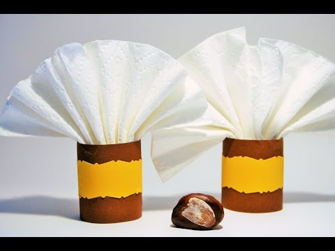 Paper cuts napkin ring - Thanksgiving