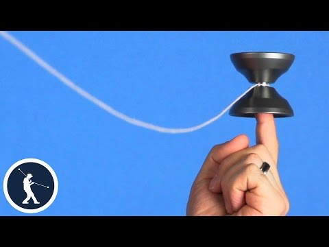 How to do Yoyo Finger Spins - Horizontal Yoyo Trick