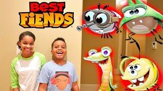 Shiloh and Shasha vs BEST FIENDS! - Onyx Kids