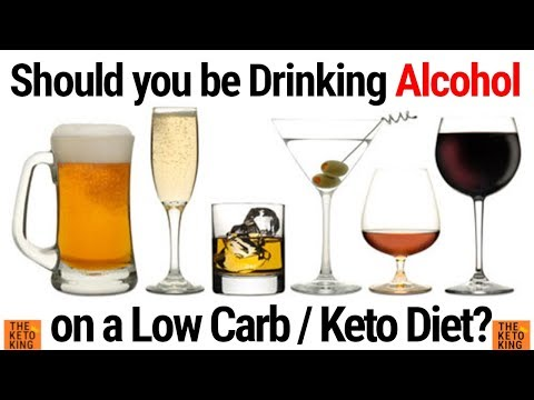 Keto and alcohol | Drinking on keto diet |The best alcohol to drink on keto | alcohol and ketosis |