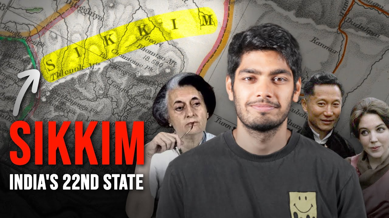 How Sikkim became India's 22nd state ft. @But Why