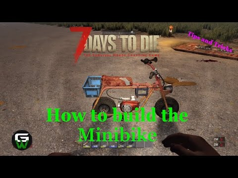How To Make the Minibike 7 Days To Die Tips and Tricks (PS4, 7DTD)