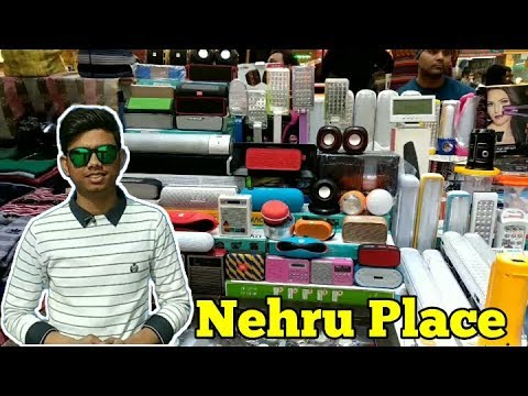 Nehru Place The Wholesale Market Of Electronics(Exploring)