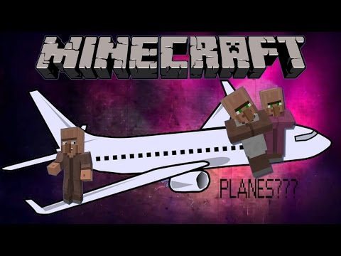 Minecraft 1.11: How To Make A Working Airplane [Moving]+[No Mods]+[1 Minute]