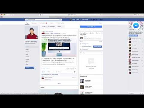 How to Boost a post from  your Facebook Business Page