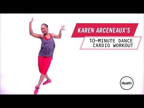 Karen Arceneaux's 10-Minute Dance Cardio Wokout | Health