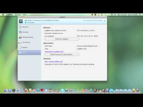 How to Remotely Connect to a Computer Over the Internet Using LogMeIn
