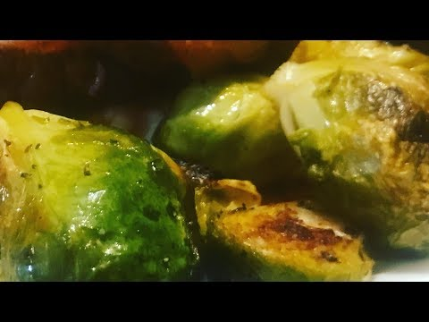 Roasting Fresh Brussel Sprouts In The Oven