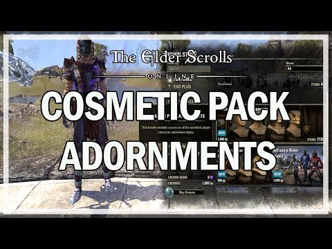 COSMETIC PACK ADORNMENTS - The Elder Scrolls Online Review