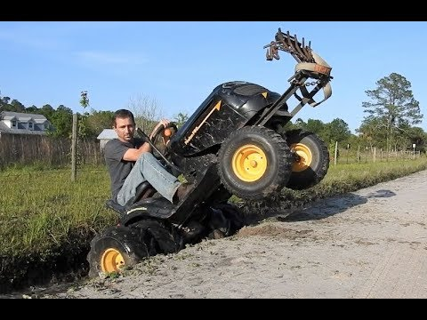 More Mud Mower Action X 3!!!