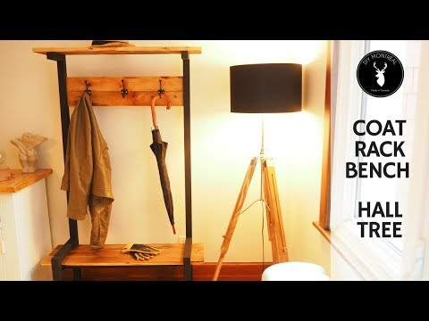 Coat Rack Bench | Hall Tree