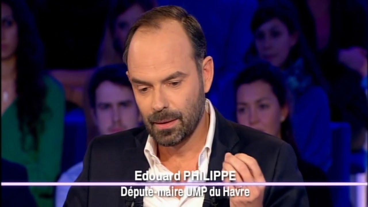Edouard Philippe - On n'est pas couché 13 décembre 2014  #ONPC