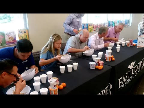 Cereal Eating Contest