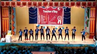 St.xavier's bettiah,Teachers Day 2016(part 1)       Saurabh &group presents jabra fan as champions