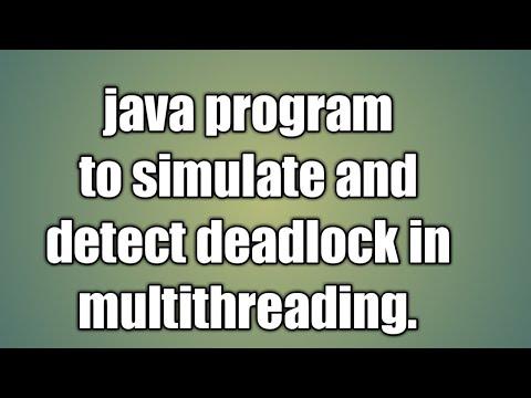 Java deadlock example | Deadlock in Java