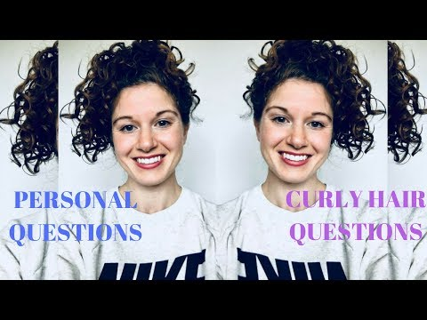 Curly Hair Q&A + very personal questions