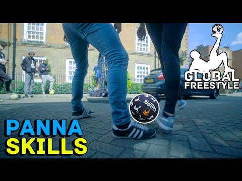 HOW TO DO PANNA SKILLS!! // STREET SOCCER // FREESTYLE FOOTBALL