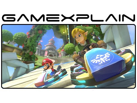 Mario Kart 8 DLC - Link, F-Zero, Animal Crossing & More Slideshow (Wii U)