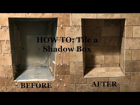 Bathroom Remodel Part 2: How To Tile a Shadow Niche