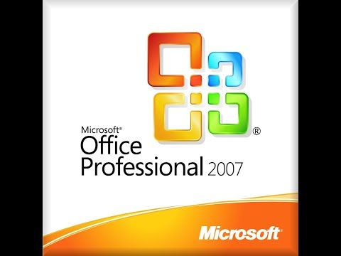 How to install Ms Office 2007 (with License key fully activated)
