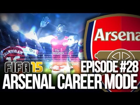 FIFA 15: ARSENAL CAREER MODE #28 - CL GROUP REVEAL!