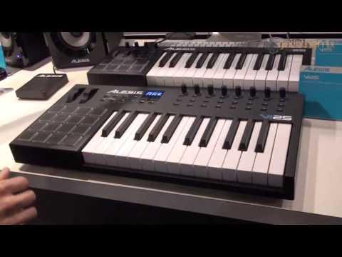 Xxx Mp4 Alesis V Vi Series MIDI Keyboard Controller NAMM 2014 3gp Sex