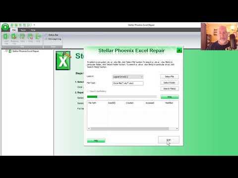 Repair corrupted Excel files with Stellar Phoenix Excel Repair by Chris Menard