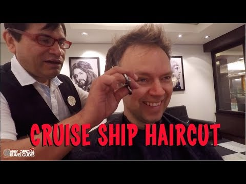 Cruise Haircut - NCL Epic Barber Shop