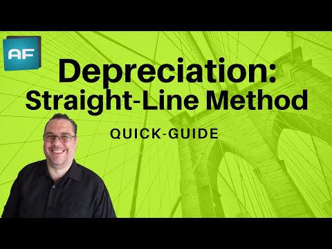 Depreciation: Straight Line Method Explained. Depreciation Tutorial w/ Theory, Formula & Example