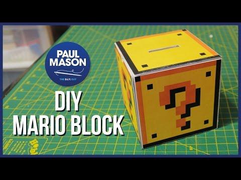 DIY Mario Question Mark Block