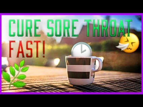 🌿  How To Cure Strep Throat or Sore Throat Naturally in 2 HOURS!! 2017 🍵 Kid Friendly