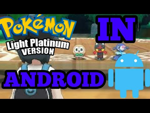 How to play Pokemon light platinum in android