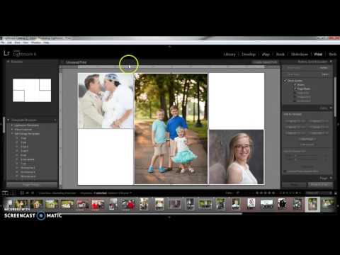Creating a Print Collage in Lightroom