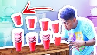 ULTIMATE BLOW CUP TRICKSHOTS!
