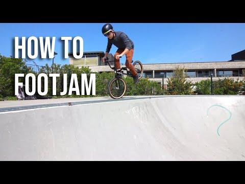 How to Footjam a Quarter BMX