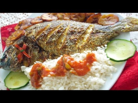Grilled Fish (grilled tilapia fish) | Nigerian food recipes