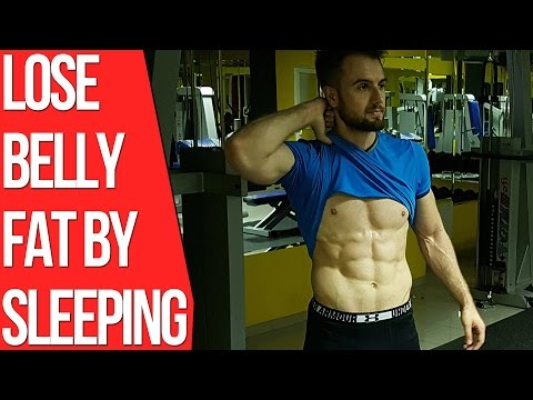 How To Lose Belly Fat By Sleeping (Backed by Science)