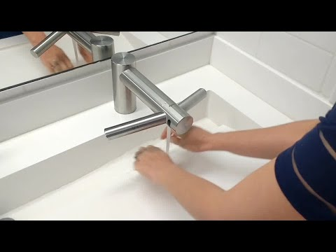 Hands free restrooms at Brightline