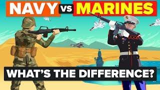 US Navy vs US Marines - What