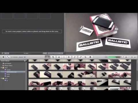 How To Make A Picture/Still Using iMovie Mac