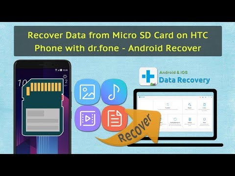 Recover Data from Micro SD Card on HTC Phone with dr.fone - Android Recover