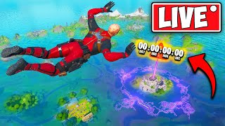 *LIVE*  FLOODED MAP FORNITE FULL EVENT!! - (Doomsday event new season map!)