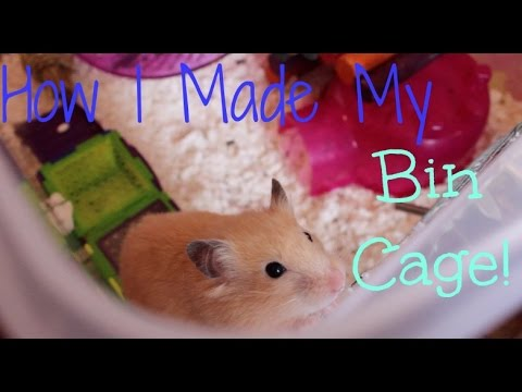 How I Made My Bin Cage!