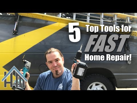 5 tools for home repair fast. How to fast home repair. Home Mender
