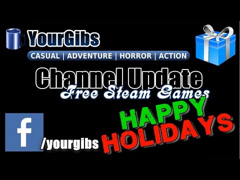 YourGibs ♦ Channel Update - HAPPY HOLIDAYS - [FREE STEAM GAMES] - Rogue Legacy Gameplay