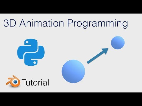 Tutorial: 3D Animation With Python and Blender!