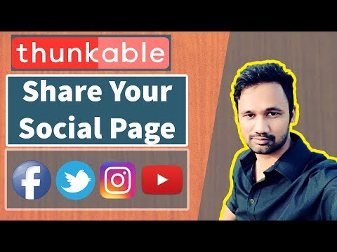 Thunkable full tutorial in bangla part 14 Share your social page