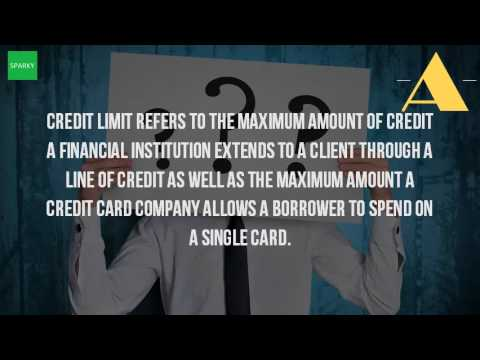 What Is The Credit Limit?